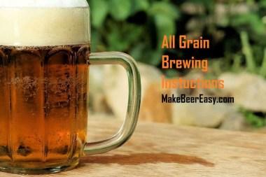 big mug of home brewed pale ale with head