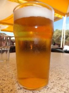 Beer in Sun