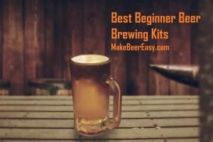 homebrewed pale ale in beer mug on table