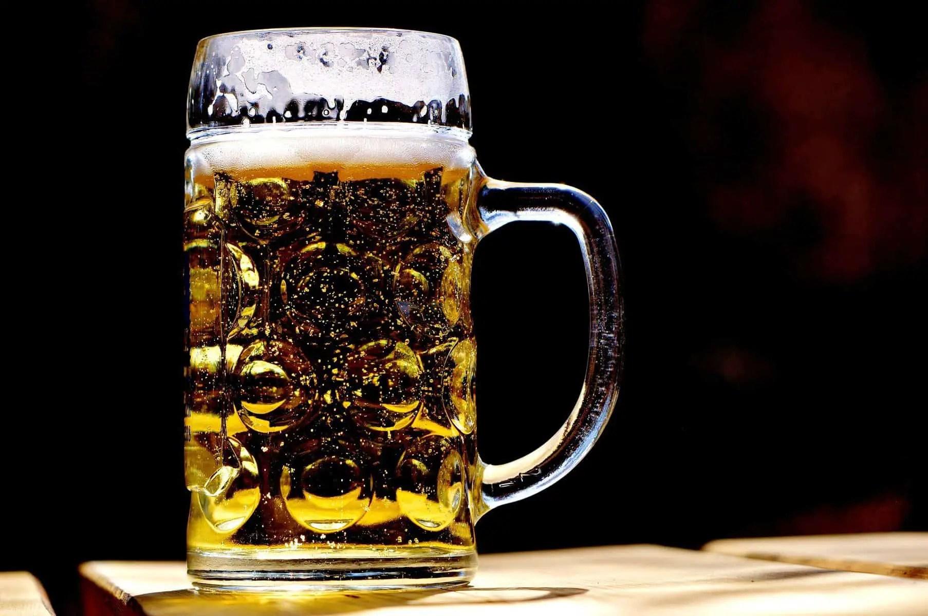 A Mug of Filtered Home Brewed Beer