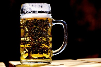 filtered home brewed kolsch