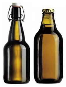 Swing Top Home Brew Beer Bottle
