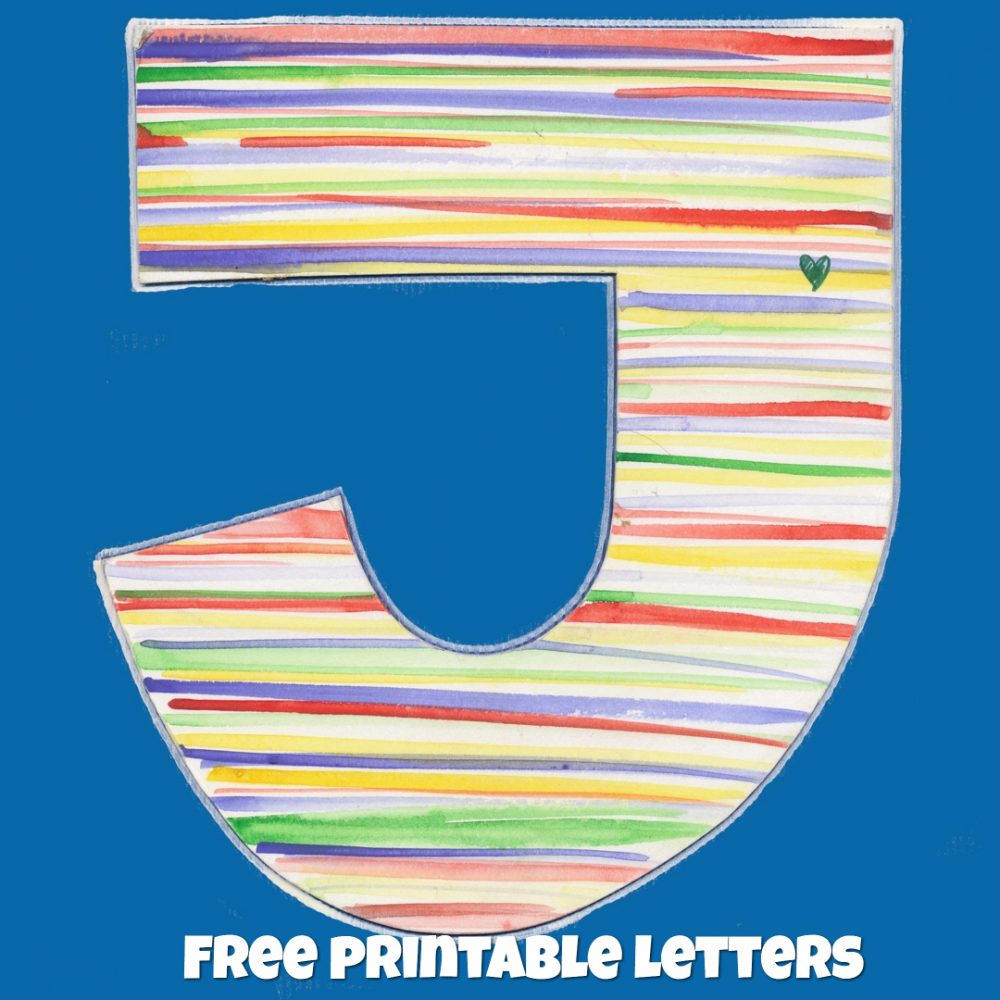 Free Printable Letters For Crafts