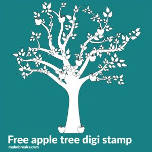 Apple Tree Free Digital Stamps