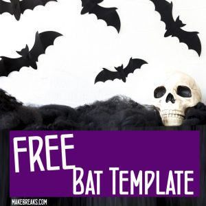 Free Halloween Bat Template