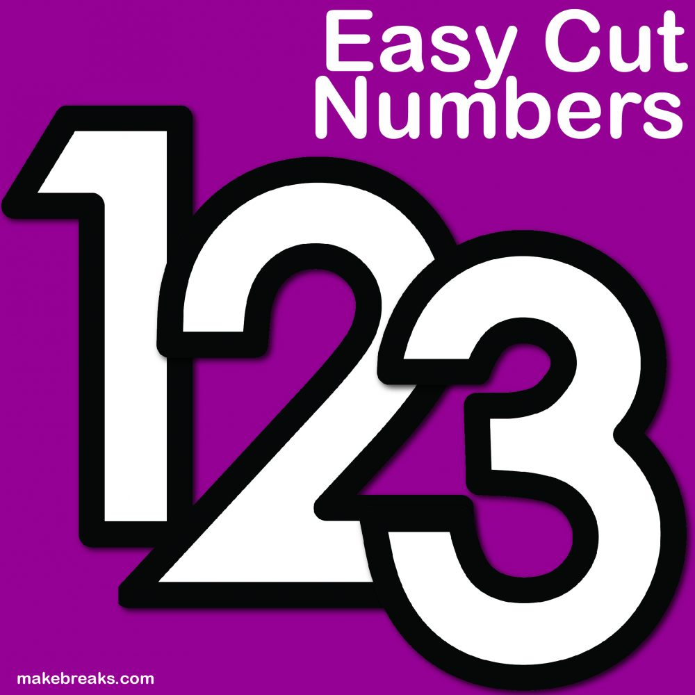 image about Printable Number Templates known as Free of charge Letter of the 7 days Templates Archives - Create Breaks