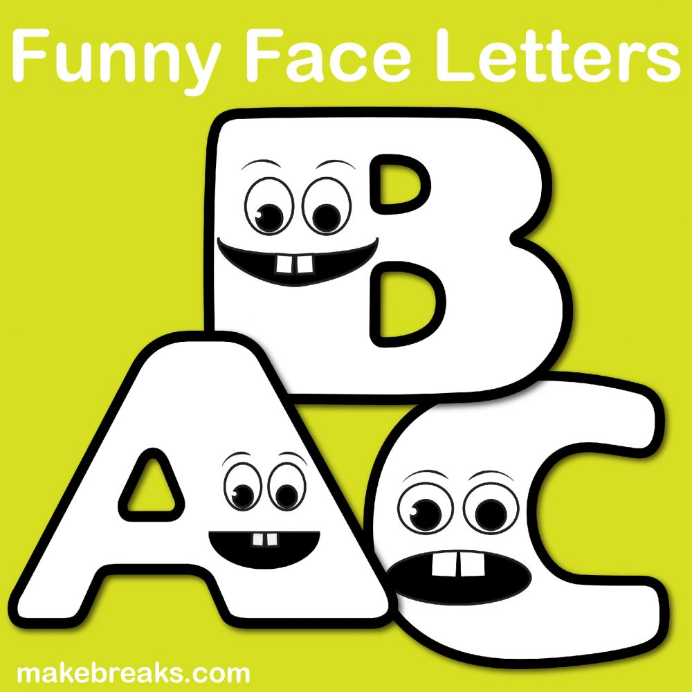 free printable letters / numbers archives - make breaks