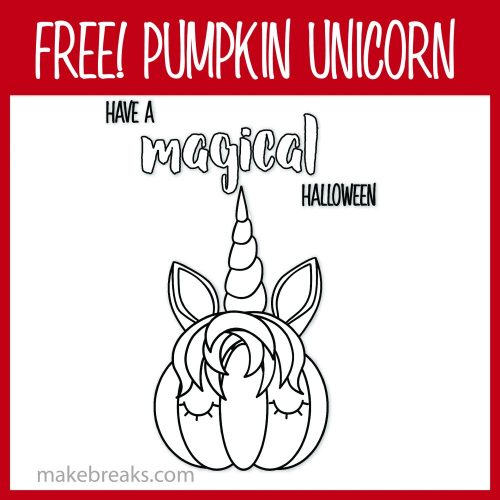 Have a magical halloween coloring page