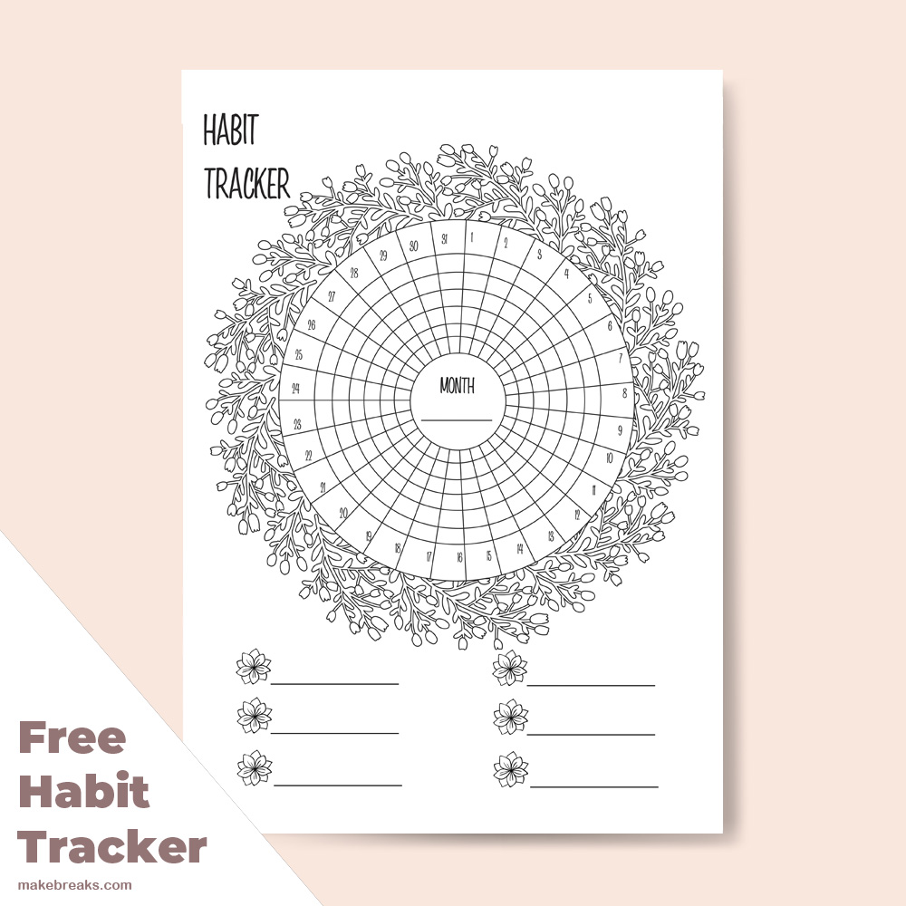 free planner printables archives make breaks