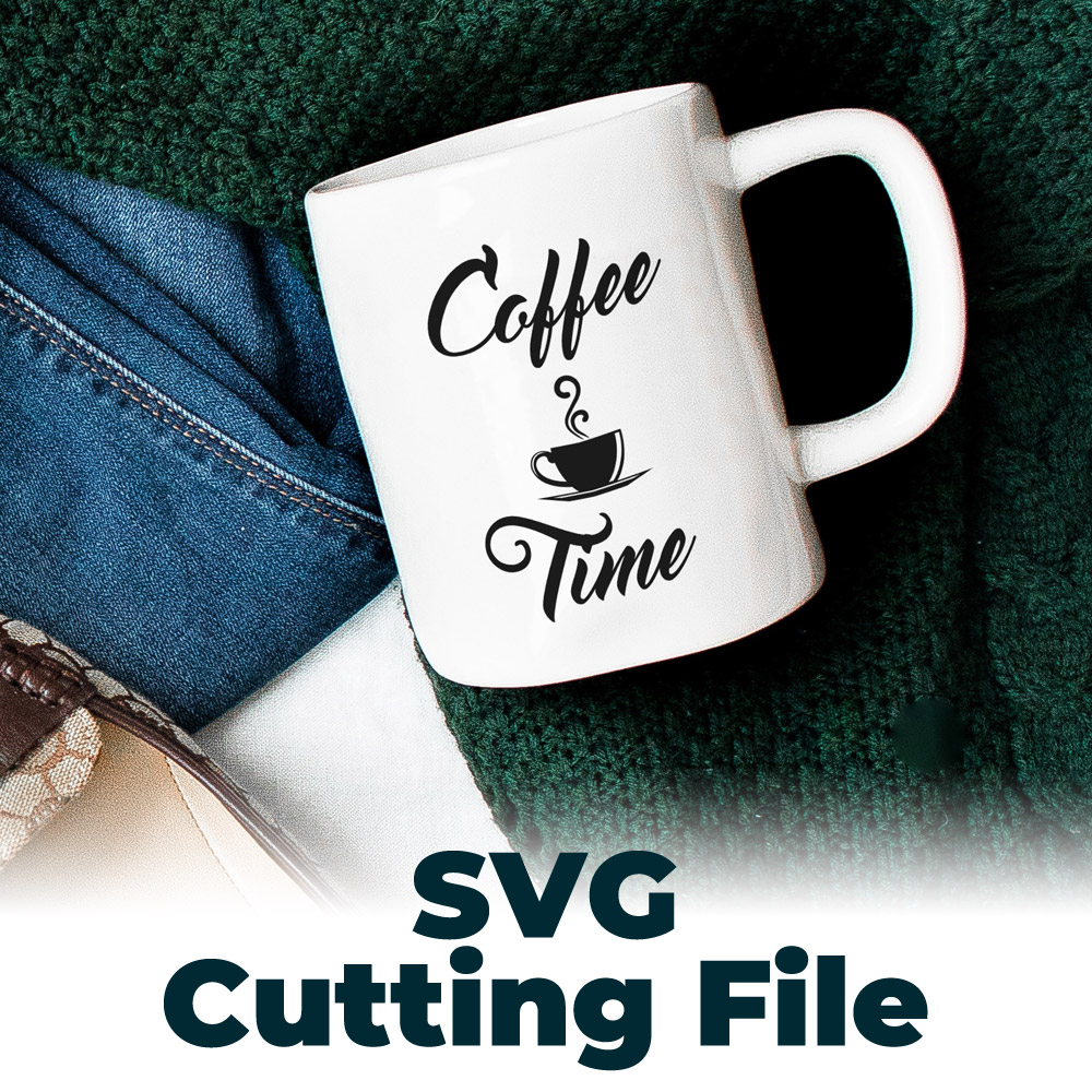 Coffee time SVG file