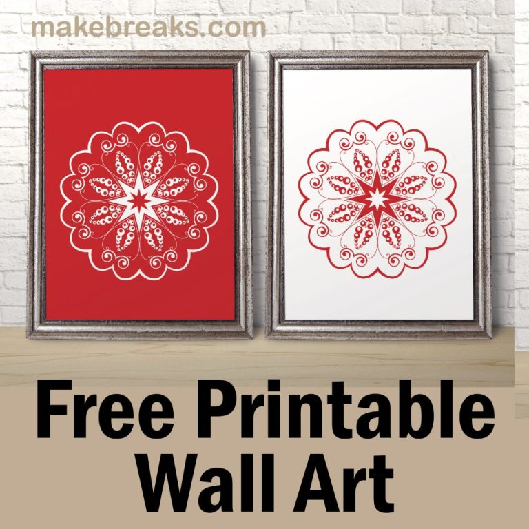 pv-red-white-mandala wall art-01