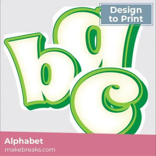 green-white alphabet-03