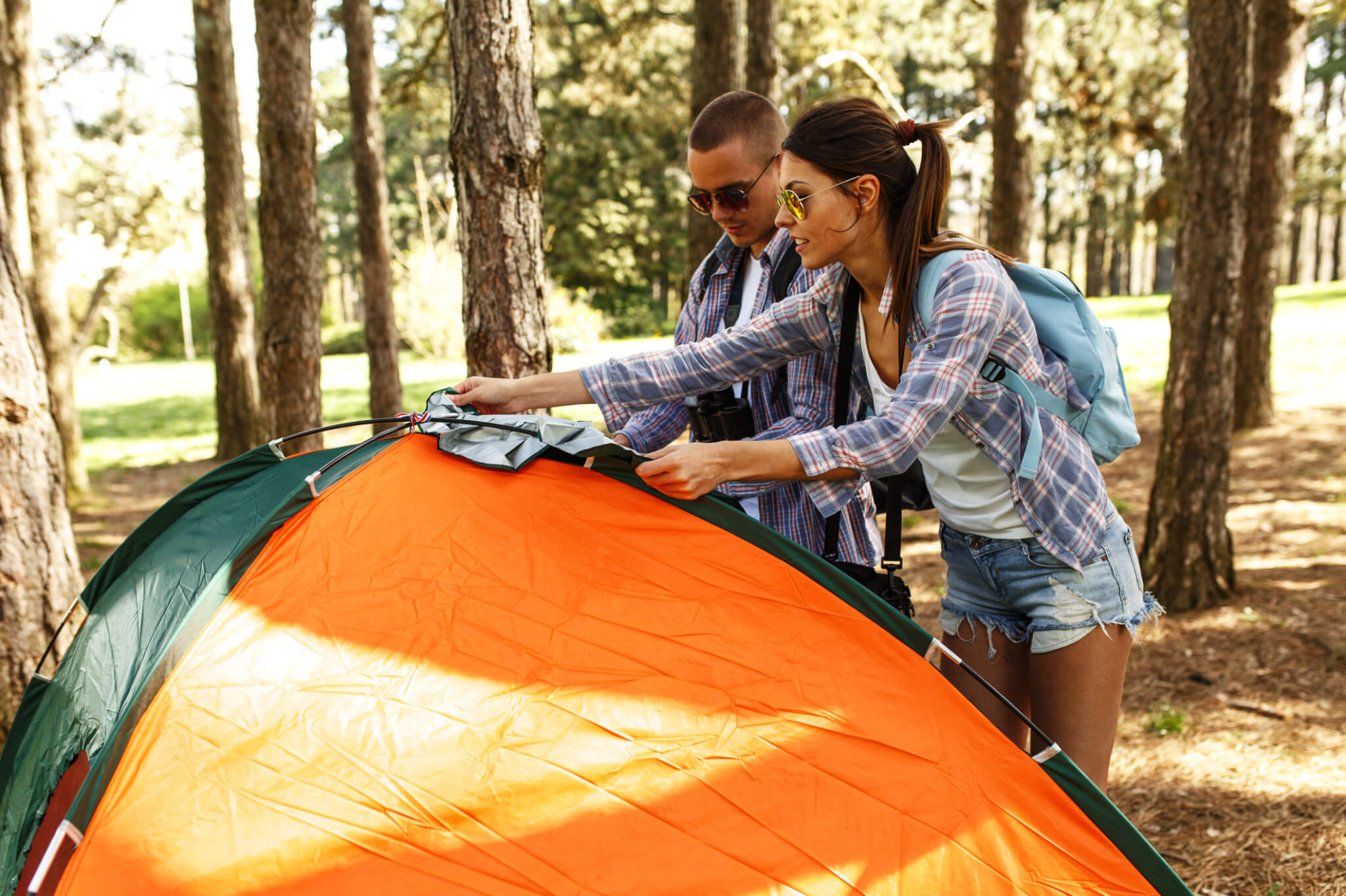 How to Repair a Ripped Tent