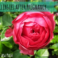 Allergies after pregnancy