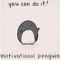 motivate penguin