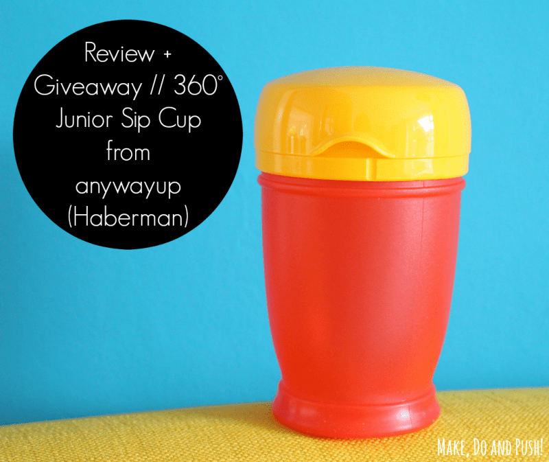 review 360° Junior Sip Cup from anywayup (Haberman)