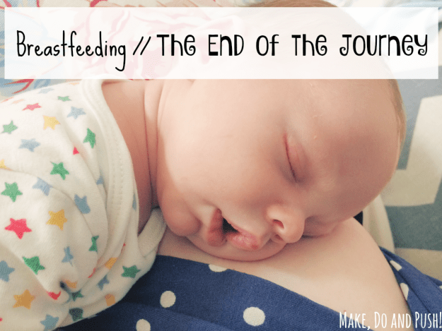 breastfeeding end of the journey