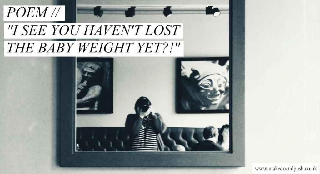 baby weight poem