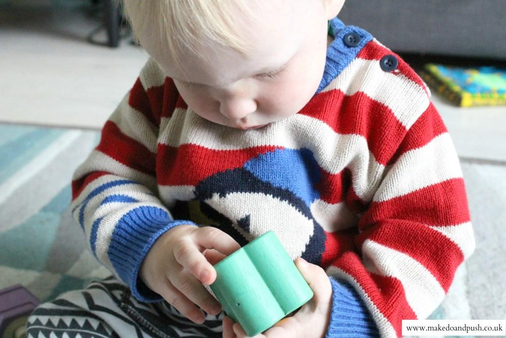 petilou sensory shapes le toy van review