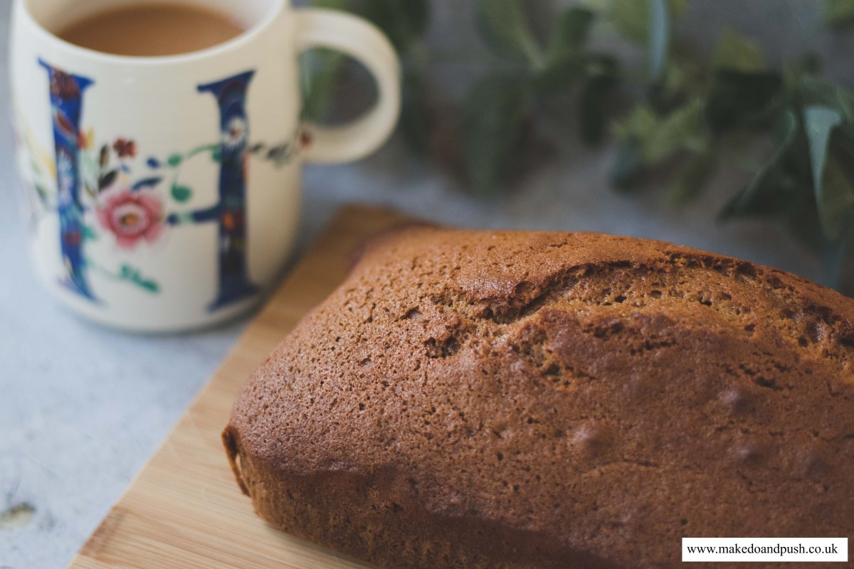 Recipe // Dairy and Soya Free Ginger Loaf Cake