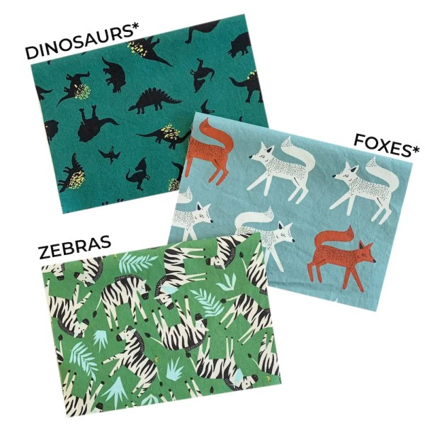 animal mask fabric