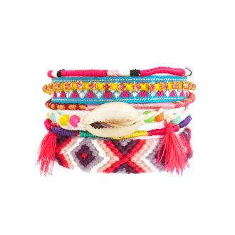 comprar pulsera party arm rosa