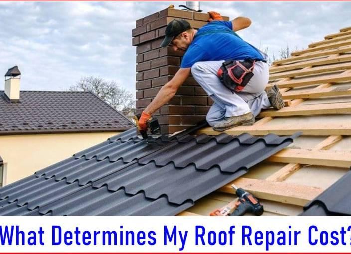What Determines My Roof Repair Cost