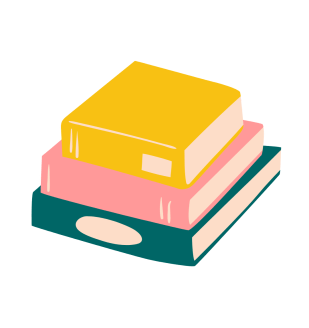 Book Stack Illustrated