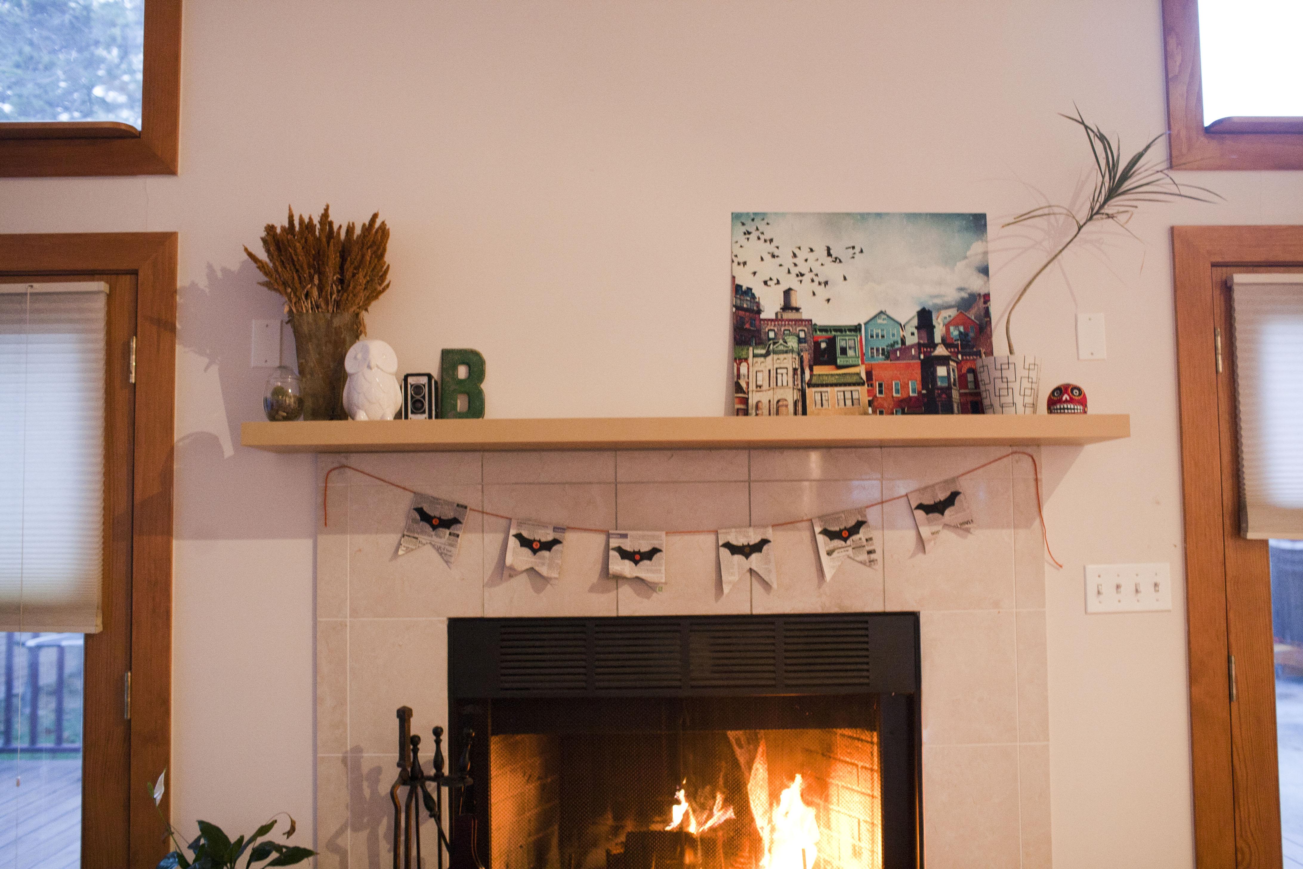 301 Fireplace Mantel Shelf