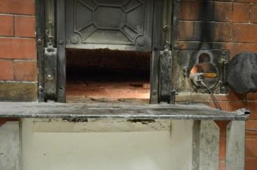 An oven run on hazelnuts shells.