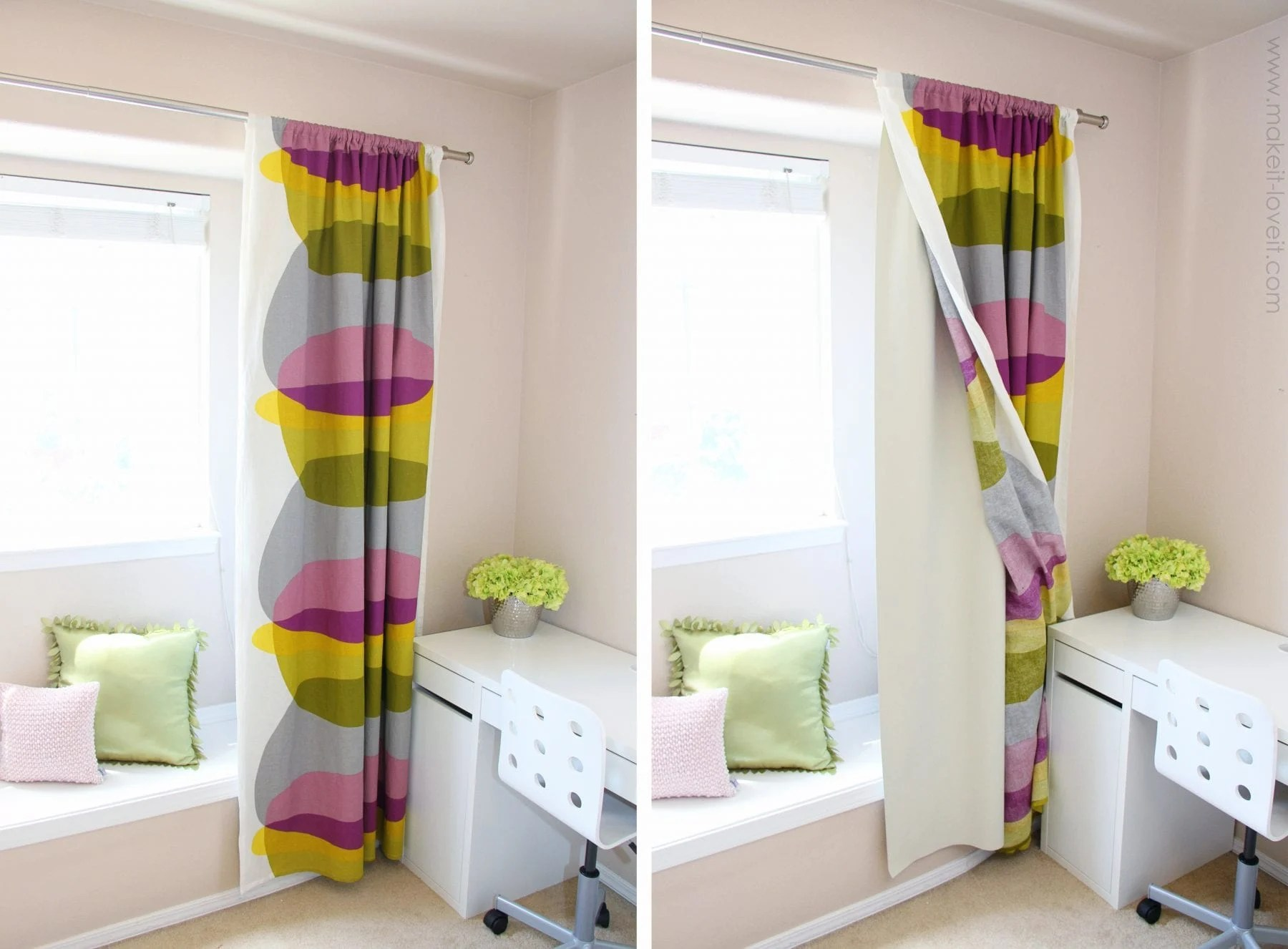blackout curtain diy how to add