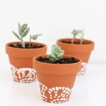 25 Design Ideas To Paint Terracotta Flower Pots