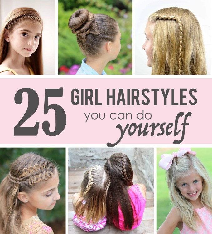 25 little girl hairstylesyou can do yourself!