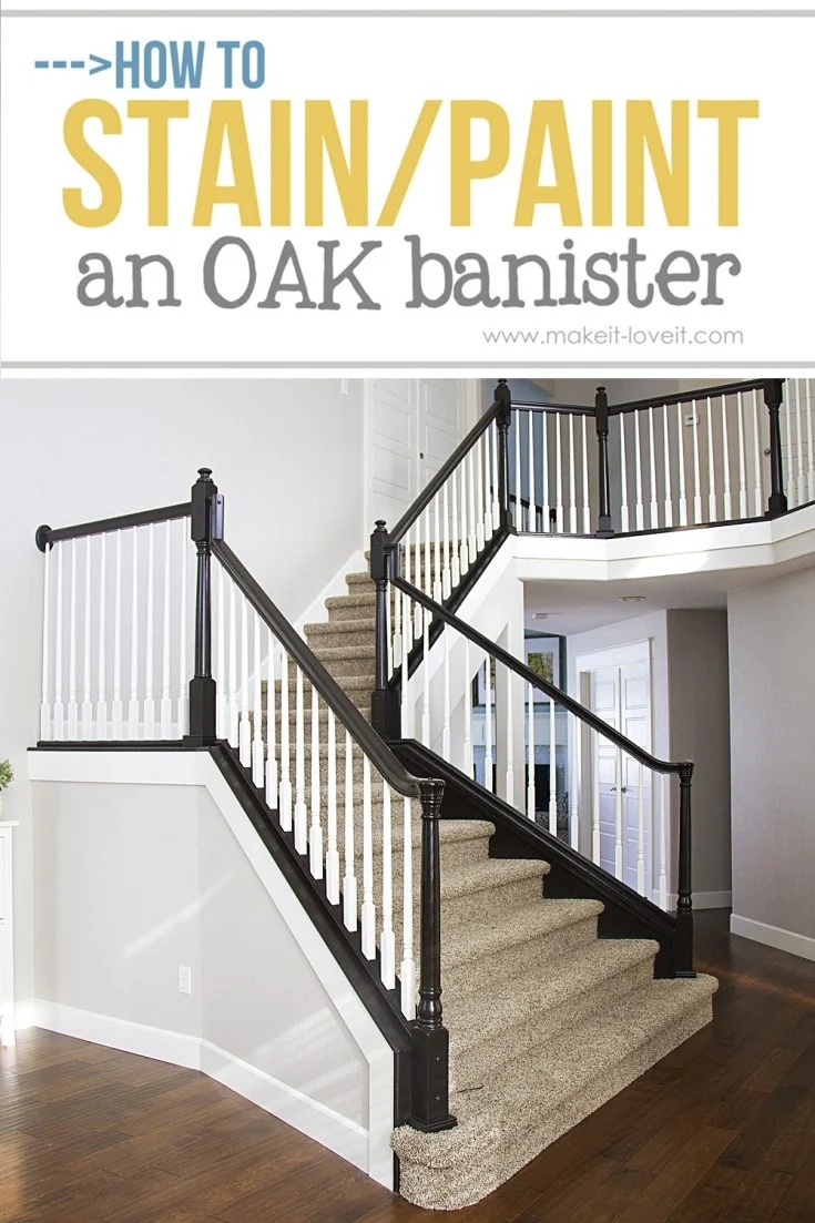 How To Paint Stain Wood Stair Railings Oak Banisters Spindles   Stair Rails Near Me   Glass Railing   Deck   Stair Treads   Oak Stair Parts   Wood