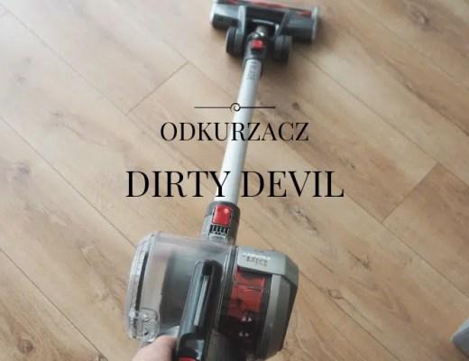 najlepszy odkurzacz pionowy dirty devil