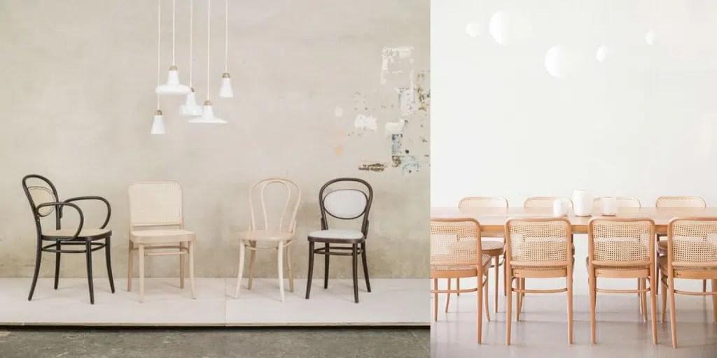 krzesło ton plecionka z rattanu wiedeńska