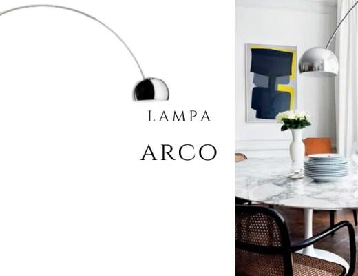 lampa arco włoski design lampa łuk na pałąku historia