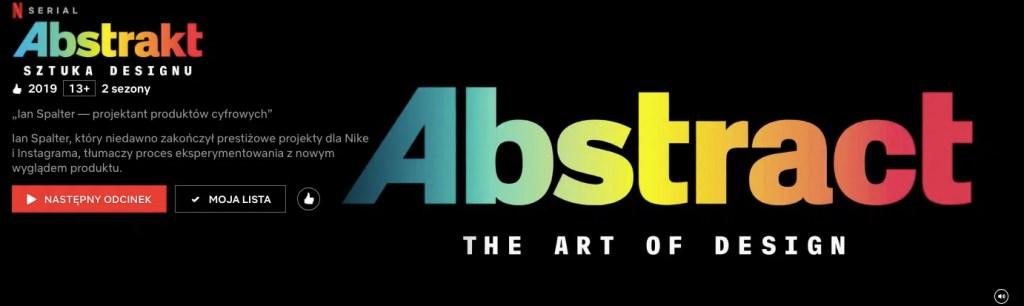 program na netflix abstrakt sztuka designu programy o wnętrzach