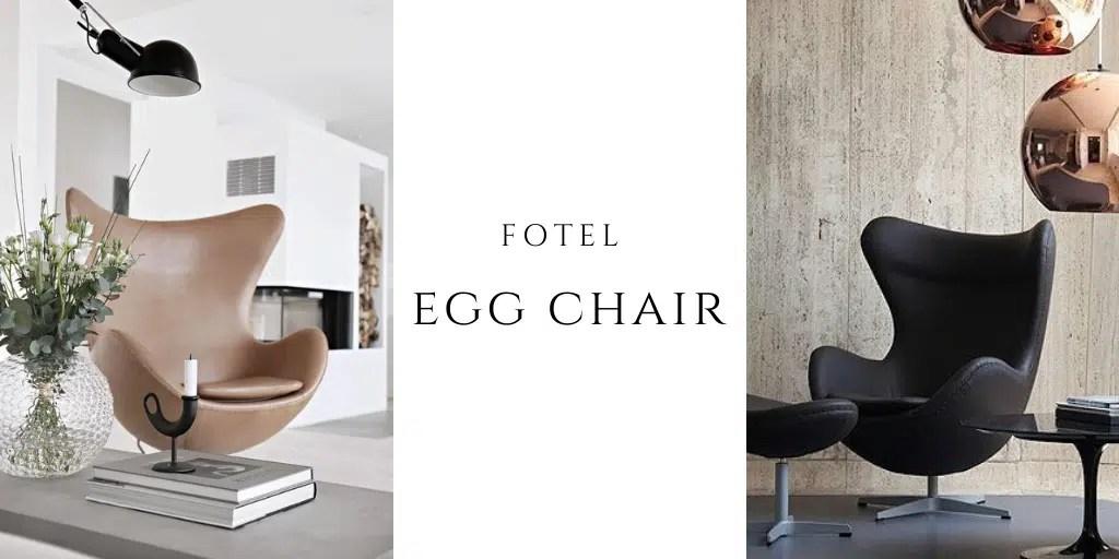 fotel egg chair jajo fritz hansen arne jacobsen
