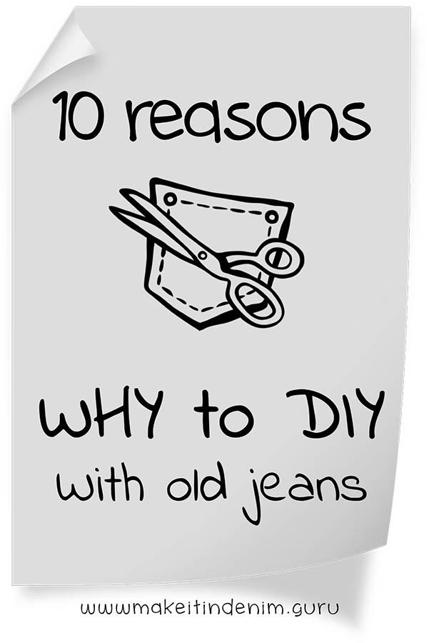 DIY denim craft