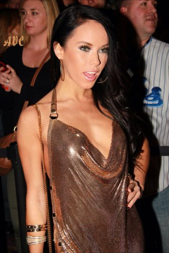 Megan Rain at the 2016 AVN Awards show