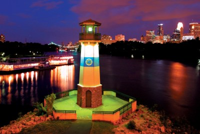 Lighthouse on the Mississippi, Minneapolis.