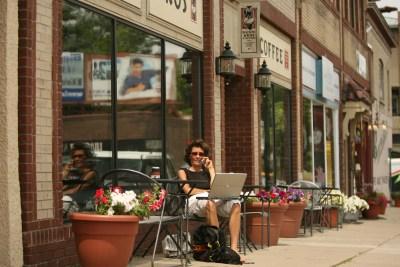 Sidewalk Café.