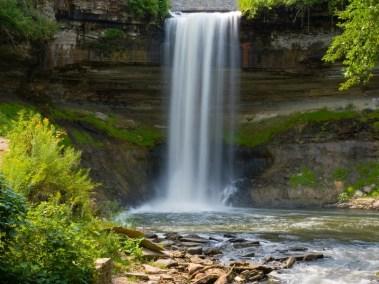 Minnehaha Falls, Minneapolis.