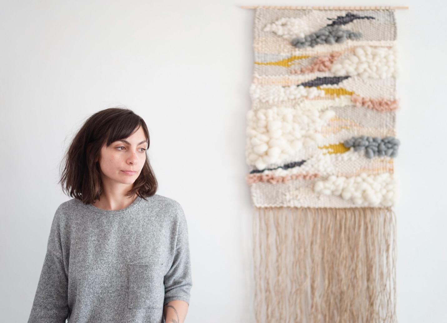 Les confidences de Julie Robert, créatrice de tissages contemporains