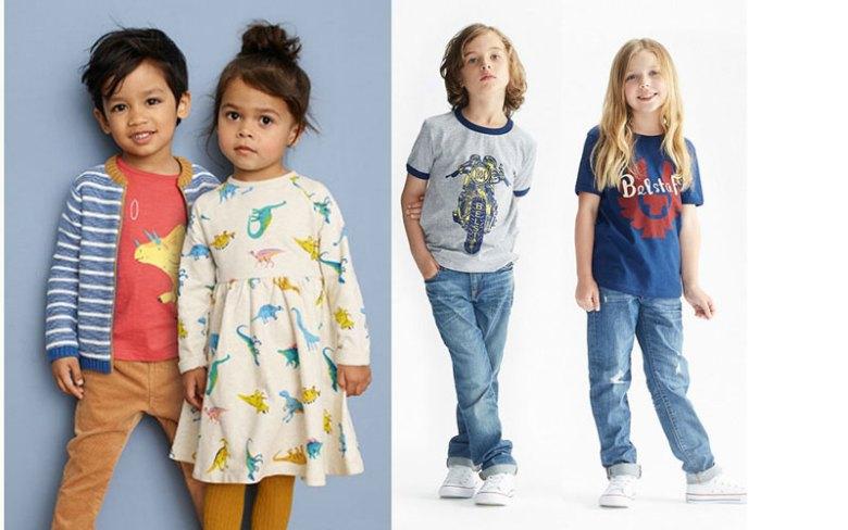 Mode enfants non genrée
