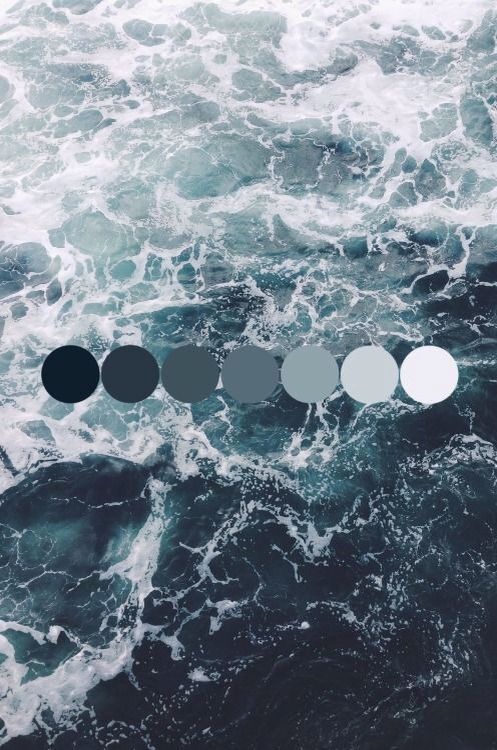 moodboard water - makeitnow.fr