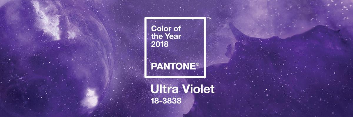 MOODBOARD #8 : Ultra Violet, couleur Pantone de l'année 2018