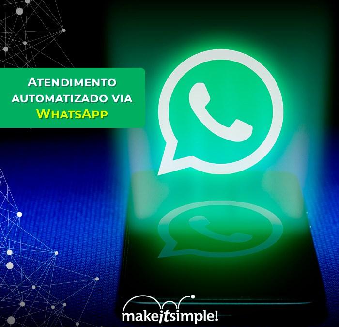 Atendimento automatizado via WhatsApp