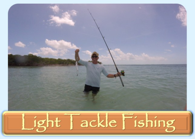 Light tackle fishing in key west
